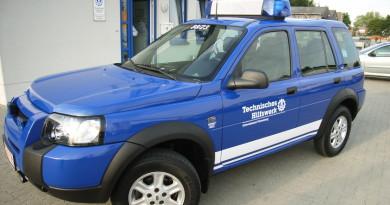 Land Rover Freelander, beschafft von der Helfervereinigung Pinneberg