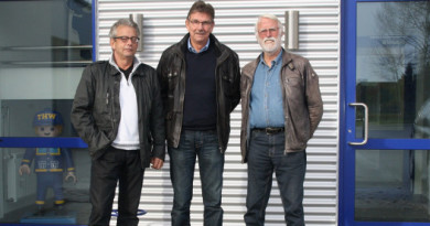 v.l.: Frank Kaiser, Burkhard Hamm, Reinhard Esser