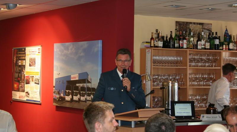 Der 1. Vorsitzende Burkhard Hamm begrüßte die Delegierten zur Landesversammlung