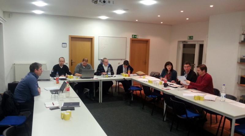 Vorstandssitzung am 18.01.2016