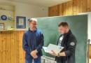 Ehrennadel in Silber für Joachim Görtz