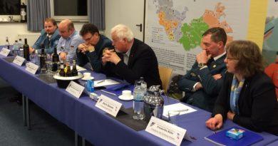Konstituierende Sitzung eines Beirates für die THW-Landesvereinigung Schleswig-Holstein