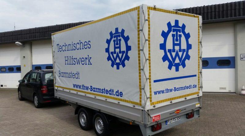 Schlauchboot-Anhänger für das THW Barmstedt