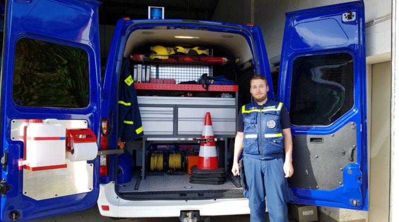 Heckausbau für den Mannschaftstransportwagen des OV Sörup