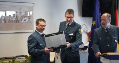Laptop für den Zugtrupp des OV Neustadt
