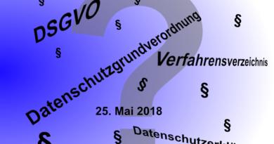 Datenschutzgrundverordnung – große Erleichterung