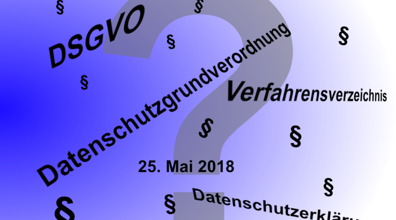 Motivbild zur Datenschutzgrundverordnung (DSGVO)