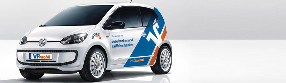 Das Projekt VRmobil ist eine gemeinsame Aktion der deutschen Volksbanken und Raiffeisenbanken in Zusammenarbeit mit den genossenschaftlichen Gewinnsparvereinen